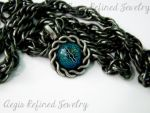 Blue Eye Gecko Necklace by Toxic-Muffins-Studio
