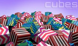 CUBES! CUBES! by yiyo-marcelo