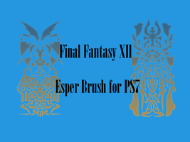 Final Fantasy XII Esper Brush by Haruru
