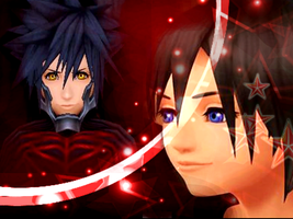 vanitas and xion 4 lily by snowconeXD
