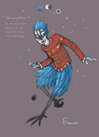Christmas Sweater Bluejay by pierdepoule
