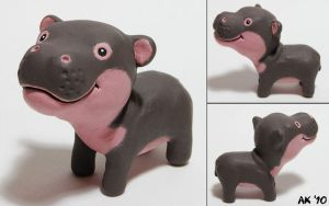 Hippo Derp by painteddog