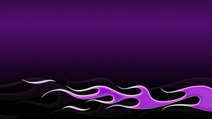 Flames - purple by jbensch