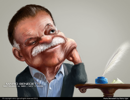 Mario Benedetti by RahulUjjal