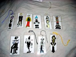 Soul Eater bookmarks by ArtikGato