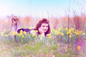 Dawn in the Daffodils by photographs-by-day