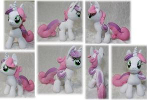 Sweetie Belle plush by Rens-twin