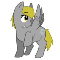 Derpy Hooves by Gilouw