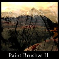 Paint Brushes II by greenaleydis-stock