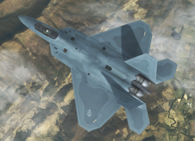 F-22A - General Resource Defense Force by Jetfreak-7