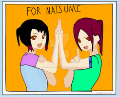 Mother and Daughter*For Natsumikenpachi* by MissTsunadeSenju147