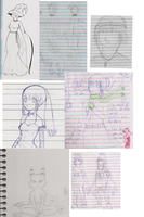 Sketch Dump by Mistery-forever