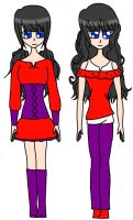 Liz ~ Formal and Casual .:Digital Reload:. by Dreams-of-Impact
