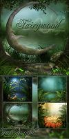 Fairywood Backgrounds by cosmosue