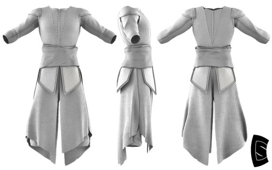 Assassin's Creed Aguilar Tunic 1 by Yowan2008