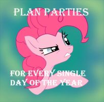 Advice Pinkie: Parties by Yohan-Gas-Mask