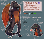 Tessek Reference by WillowEscapee