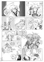 Kingdom Hearts shortcomic by drowdragon