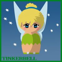 Tinkerbell Doll - Peter Pan by hallatt