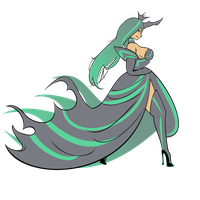 Queen Chrysalis Vector FIXED by BrinkySkullWolf