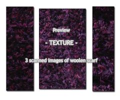 - TEXTURE - knitted wool 2 by Von-Chan