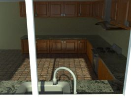 Kitchen Render 2 by Shadow-Person