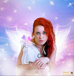 Fairy in the rainbow by tinca2