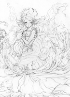 In Calm Reflection - WIP by Anzabelle