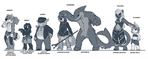 Ask leopup tumblr characters by Seth-Iova