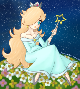 Lovely Rosalina - Colour by valrise