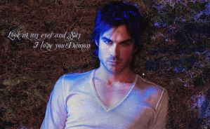 Damon Salvatore Wallpaper by sexylove555