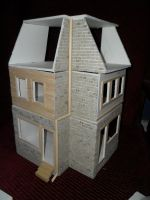 Les Shoppes Dollhouse Project: WIP 10 by kayanah
