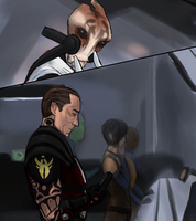 ZaeedMordin - goodbye [ME3 SPOILERS] by rabbitzoro