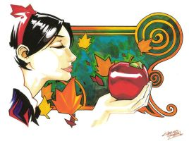 marker: Snow White by KidNotorious