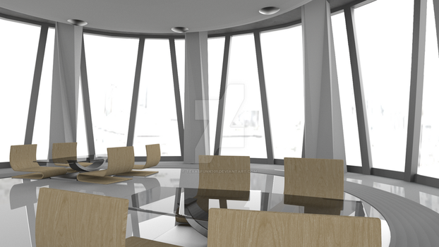 Glass Lunch Room by TexasFunk101