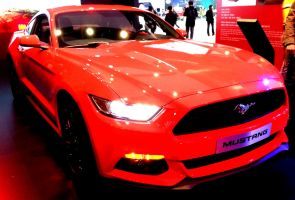 Hot Red New Mustang by toyonda