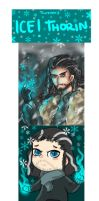 Frozen AU: Ice!Thorin by TheBlackJacket