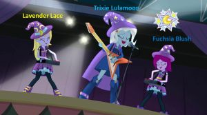Trixie and the Illusions by SondowverDarKRose