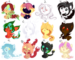 More Special Adopts  Closed by karsisMF97