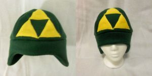 Zelda Tri-force - Fleece Hat by PakajunaTufty