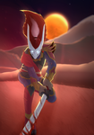 Blood Moon Yasuo by Scheve94