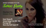 Tattoo Party Flyer by INF3CT3D-D3M0N