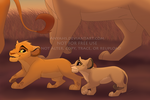 Kion and Sahili morning walk by Anyahs