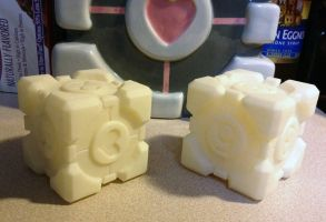 Companion Cubes by Athey