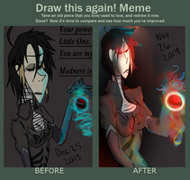 Draw This Again Meme- Madness by ArrancarGirl6464