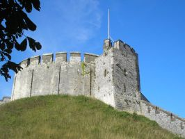 The keep at Arundel Castle by Anakin13