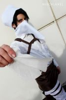 Levi Heichou Rivai : Clean it well ! cosplay by MischievousBoyAilime