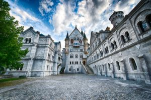 Disney Castle, Neuschwanstein by alierturk