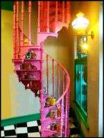 Stairs to Candy Heaven by HarleyQuinz