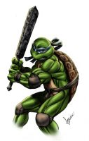 Dali - the fifth Ninja Turtle by sean-izaakse